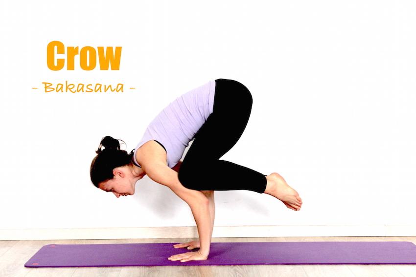 How To Do Crow Pose Bakasana