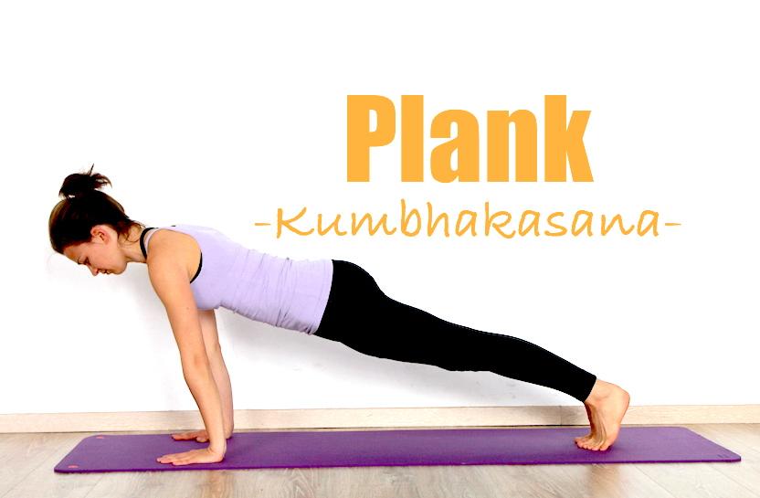 How to do Plank Pose (Kumbhakasana): Yoga poses step by step