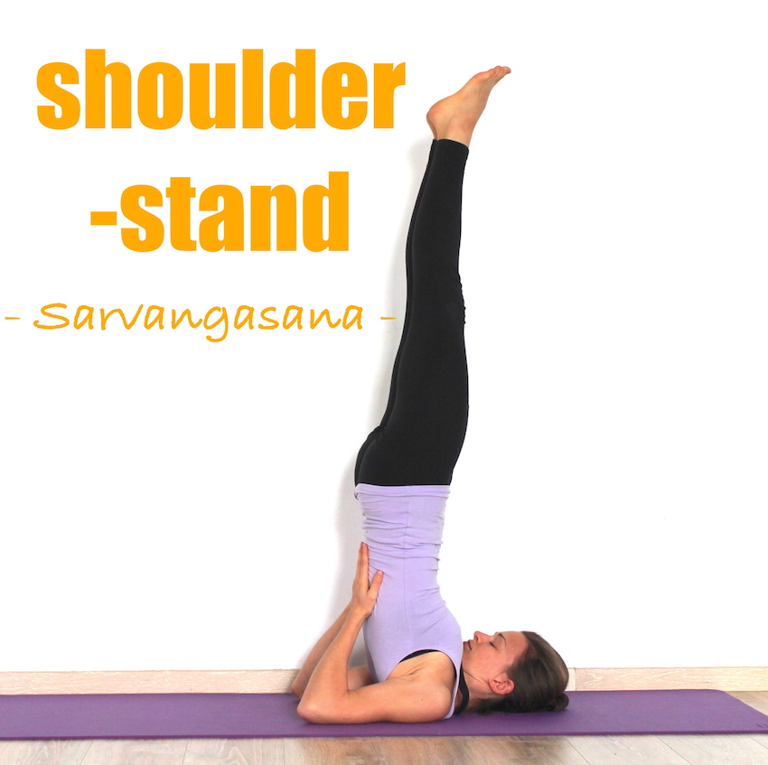 How To Do Shoulder Stand Sarvangasana